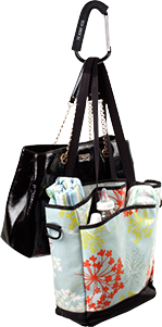 The Mommy Hook with Nursery Bags